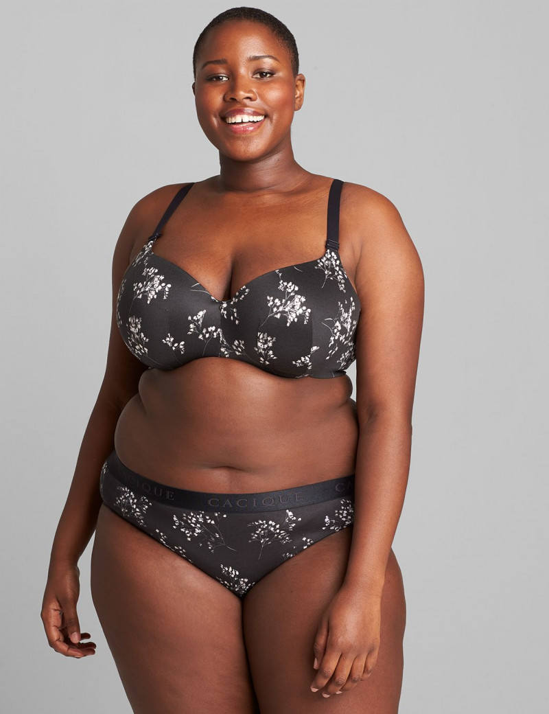 Lane Bryant Cotton Hipster Panty with Wide Waistband